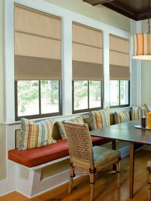 magnetic ultimate cordless roman shade